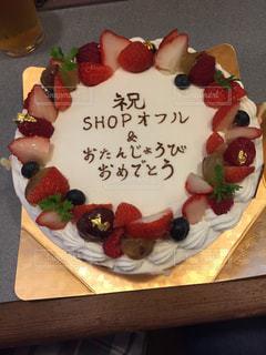ケーキ,クリーム,フルーツ,誕生日,ローソク,祝い,ホール