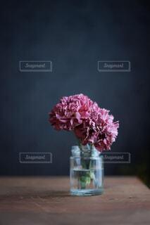 花,屋内,花瓶,テーブル,草木