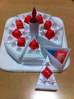 スイーツ,ケーキ,プレゼント,手作り,折り紙,本物?