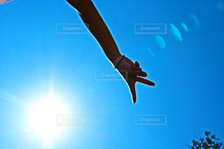 空と光の写真・画像素材[742908]