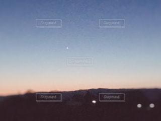 一番星の写真・画像素材[1094497]