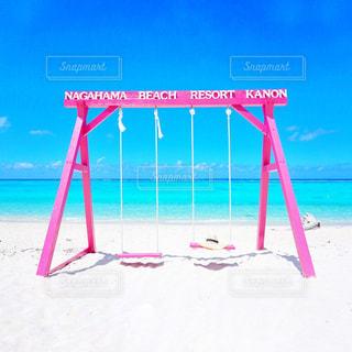 風景,海,空,夏,屋外,ビーチ,水面,海岸,沖縄,旅行,エメラルドグリーン,沖縄旅行,眺め,日中,めんそーれ