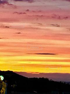 自然,風景,空,夕暮れ,黄色,リラックス,黄