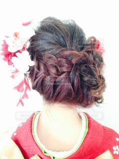 髪型の写真・画像素材[394377]