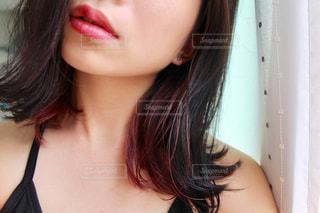 髪,唇,顔,口