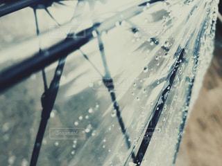 雨,傘,水,季節,コンクリート,雷,雫,梅雨,天気,ビニール傘,雨の日,ゲリラ豪雨
