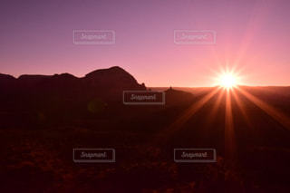 背景の夕日の写真・画像素材[1270898]