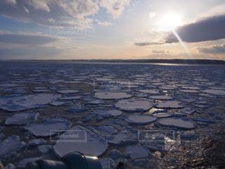 流氷の写真・画像素材[893539]