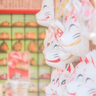 京都,伏見稲荷大社,狐,お面,観光スポット,ましかく