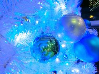 ブルーのクリスマスの写真・画像素材[928605]