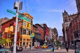 ニューヨークの街並みの写真・画像素材[997254]