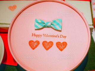ピンク,プレゼント,ハート,リボン,バレンタイン,グリーン