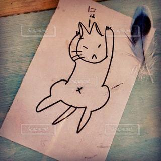 猫,文字,イラスト,アート,ねこ,デザイン,手書き,にゃー,ネコ,図