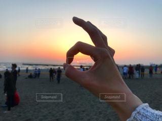 夕日の写真・画像素材[467546]
