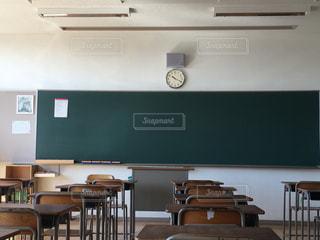 椅子,机,教室,高校,卒業式,席,最後