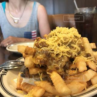 アメリカ,チーズ,ロサンゼルス,おいしい,フライドポテト,ダウンタウン