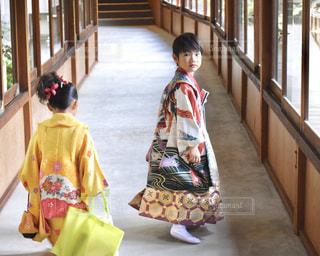 七五三詣りの写真・画像素材[1016470]