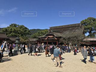 太宰府天満宮の活気の写真・画像素材[861991]