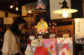 川越の懐かしさ残るお店の写真・画像素材[1214913]
