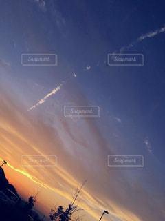 秋は夕暮れの写真・画像素材[784726]