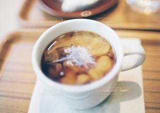 カフェでコーヒーの写真・画像素材[11491]
