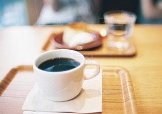 カフェでコーヒーの写真・画像素材[11492]