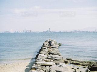福岡の海の写真・画像素材[142957]