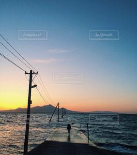 熊本の夕景の写真・画像素材[172356]