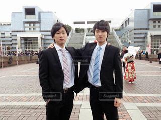双子の成人式。の写真・画像素材[835597]