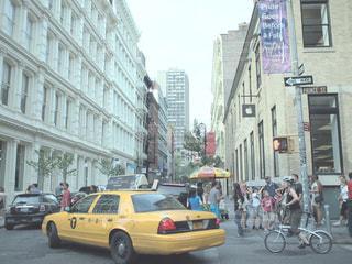ニューヨークの街角の写真・画像素材[1004387]