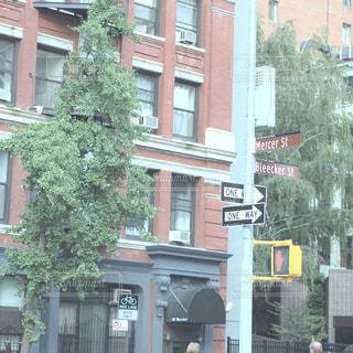 マンハッタンの街の建物の写真・画像素材[1005319]