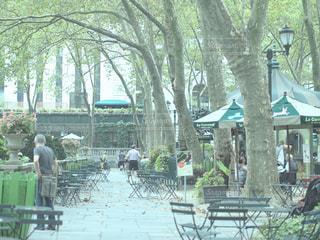 ニューヨークの公園の写真・画像素材[1005323]