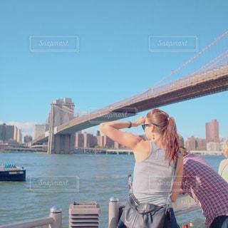 昼のブルックリンの写真・画像素材[1013568]