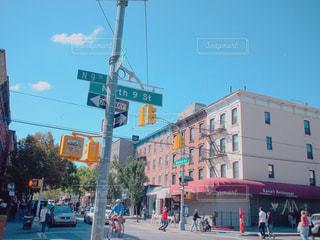 ブルックリンの街の写真・画像素材[1013950]
