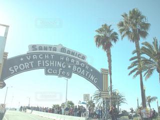 LAはサンタモニカの写真・画像素材[1018841]