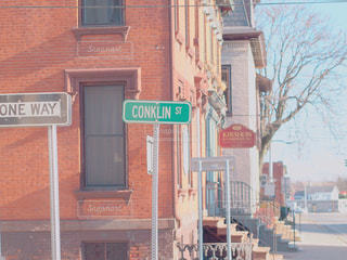 ニューヨークの田舎町の写真・画像素材[1020339]