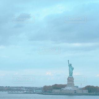 ニューヨーク、自由の女神の写真・画像素材[1020351]