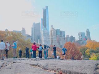 ニューヨーク、セントラルパークの写真・画像素材[1020352]