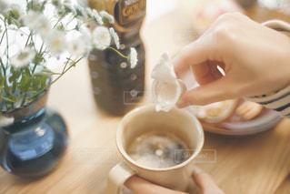 おうちカフェの写真・画像素材[1258115]