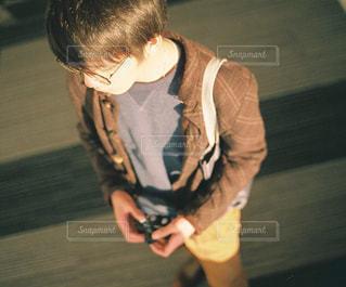カメラ男子の写真・画像素材[1693456]