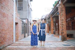 女子旅で訪れた台湾の街の写真・画像素材[2266805]