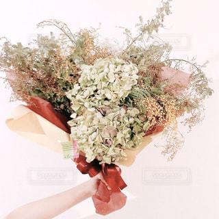 ドライフラワーの花束の写真・画像素材[3087701]