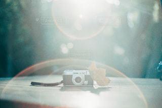 お気に入りのカメラの写真・画像素材[3379274]