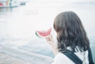 ジューシーなスイカの写真・画像素材[3499448]