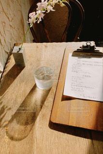 カフェと西陽の写真・画像素材[4695688]