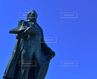ペリー提督の銅像の写真・画像素材[3015147]