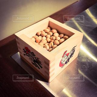 節分の豆まきの写真・画像素材[331078]