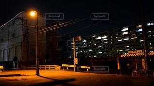 近所の夜景の写真・画像素材[1710068]