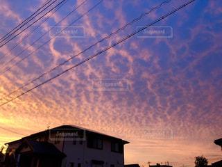 風景,空,屋外,雲,夕方