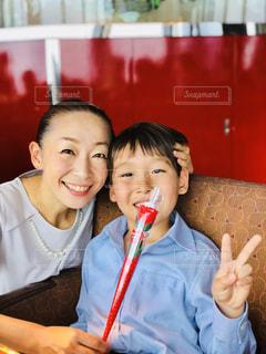 女性,笑顔,母の日,ママ,なかよし,お母さん